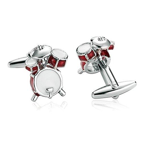 epinki-stainless-steel-white-red-cufflinks-for-men-wedding-business