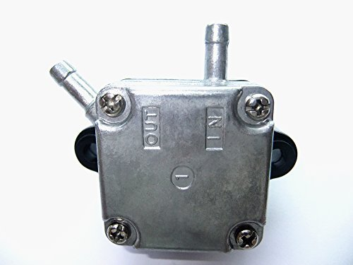 Peak Hp-motor (Fuel Pump 66M-24410-10-00 66M-24410-11-00 for Yamaha 4-Stroke 9.9HP 15HP F15 F9.9 Outboard Motor by SN MARINE PARTS MANUFACTURER)