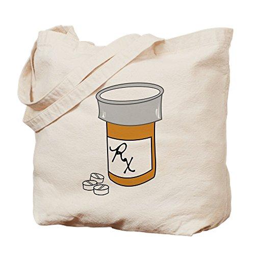 CafePress Pillenflaschen-Tragetasche, canvas, khaki, S -