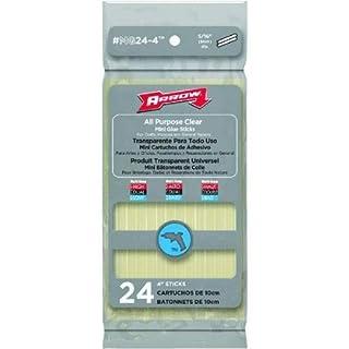 Glue Sticks Replacement Arrow Fastener All Purpose Mini Glue Sticks (24) 102mm