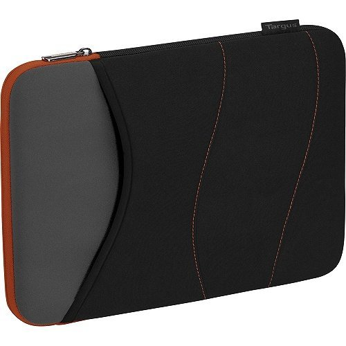 quash-tss55418us-carrying-case-sleeve-for-15-notebook-black-gray-tangerine-by-targus