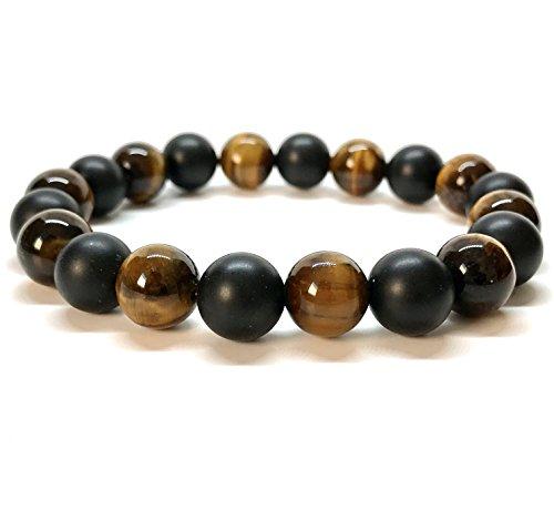 gooddesigns-bracelet-chakra-boule-en-oeil-de-tigre-et-onyx-taureau-faucon-perle-de-10mm-lithotherapi