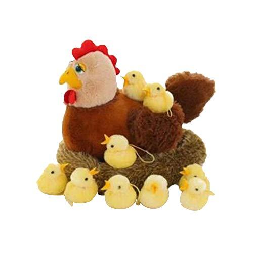 Soft stuffed toy Peluches gallinas Que Ponen Huevos