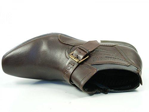 Bugatti Stiefelette Dunkelbraun