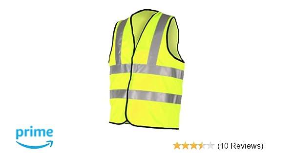 a9027cbbd5911 High Visibility Vest Class 2 Size XXXXL (4XL - 4x Extra Large)   Amazon.co.uk  DIY   Tools