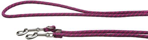 Trixie Sportliche Seil Verstellbare Hundeleine Leine, S/M, Fuchsia
