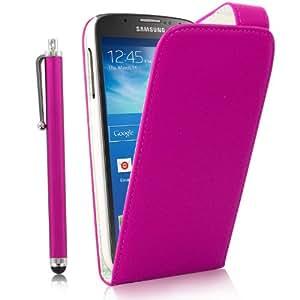 Samsung Galaxy S4 Active Leder-Flip-Cover & Stylus