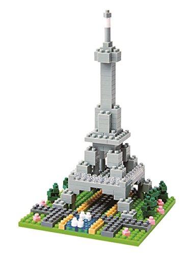 Unbekannt nanoblock NBH-004 Eifelturm 3D-Puzzle von Kawada bestehend aus über 200 Teilen