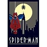 Marvel Deco- Maxi póster diseño Spiderman, Multicolor