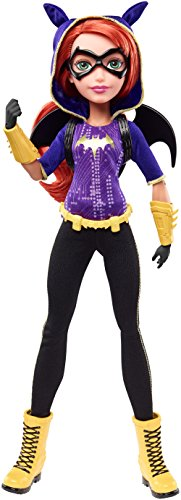 Mattel DLT64 - DC Super Hero Girls Batgirl Action Puppe, 30 cm - High I Love Fashion Monster
