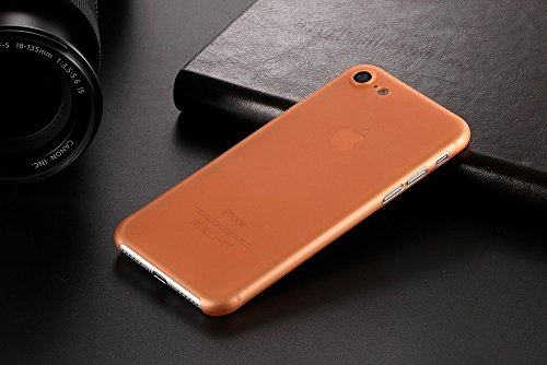 Monkey cases® Ultra sottile silicone opaco Look–Premium–Custodia per Cover–Slim 0,3Mm Flash orange