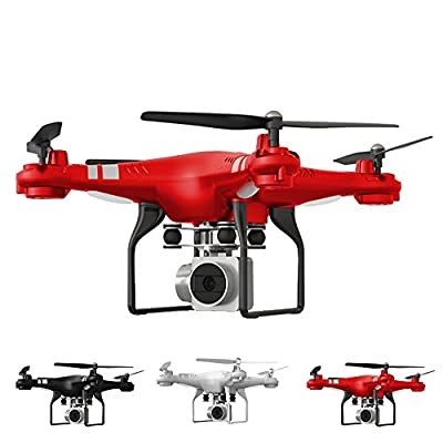 HARRYSTORE 170 Degree Wide Angle Lens HD Camera Quadcopter RC Drone WiFi FPV Live Helicopter Hover