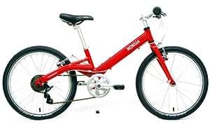 LIKEtoBIKE Kinderfahrrad 20 ' von Kokua Like to Bike rot