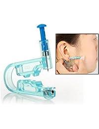 Itian Herramientas para hacer agujeros en las orejas - Desechables seguridad cuerpo Ear Piercing pistola Kit