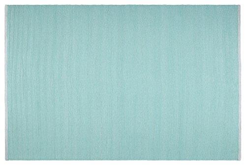 Creative carpets Alfombra para interiores y exteriores, Plástico, Verde Agua, 160 x 230 cm