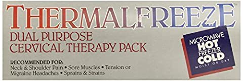Bilt-Rite Mastex Health Thermaleeze Cervical Wrap Therapy Kits, Black/White by