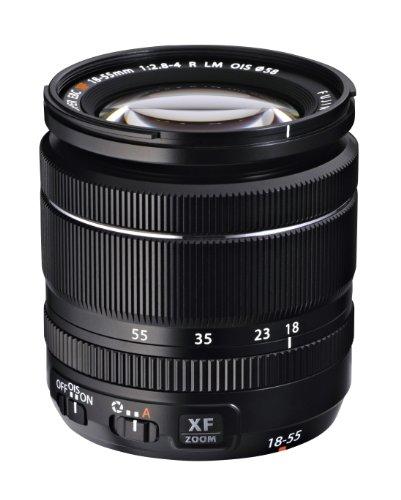 Fujifilm Fujinon XF18- 55mmF2.8- 4 R LM OIS -  Objetivo para Fujifilm X (distancia focal 18- 55mm,  apertura f/2.8- 16,  zoom óptico 1x, estabilizador óptico,  motor de enfoque,  diámetro: 52mm) color negro