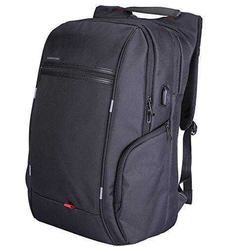 "Preisvergleich Produktbild 17"" Laptop Rucksack Business Notebook Computer Rucksack Herren Damen mit 17.3 zoll Laptopfach USB-Anschluss"