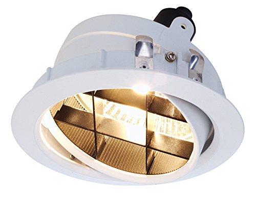 Deckeneinbauleuchte, Tura Einsatz ESA 111, 220-240 V, AC/50-60 Hz, GU10 / ES111, 75 W 850103