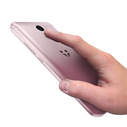 Wileyfox Swift 2 Plus - Tel  fono m  vil libre  pantalla de 5 pulgadas de alta definici  n  32 GB de memoria interna con 3 GB de RAM  doble SIM 4G  si