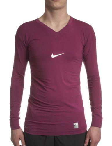 Nike Pro T-Shirt à Manches Longues avec col en V pour Homme Dri-FIT