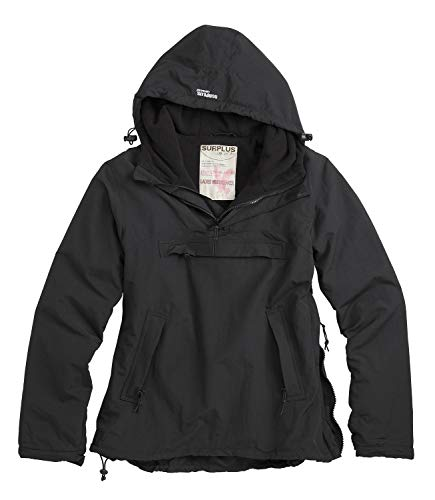 Surplus Ladies Windbreaker, SCHWARZ, XL