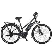 FISCHER Damen - E-Bike Trekking ETD 1861.1, schwarz matt, 28 Zoll, RH 44 oder 49 cm, Mittelmotor 80 Nm, 48 V Akku