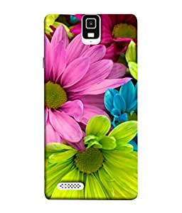 PrintVisa Designer Back Case Cover for Infocus M330 (Bright Bouquet Floral Blossom Beauty Natural White)