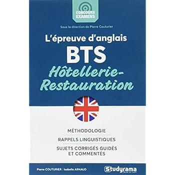 L'épreuve d'anglais au BTS hôtellerie-restauration