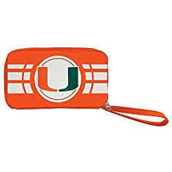 NCAA Miami Hurricanes Ripple Zip Wallet