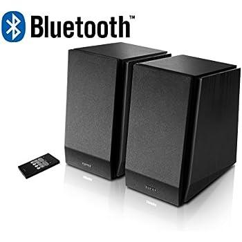348cc034153094 Edifier R1850DB Active Bookshelf Studio Speakers with Bluetooth - Matt Black