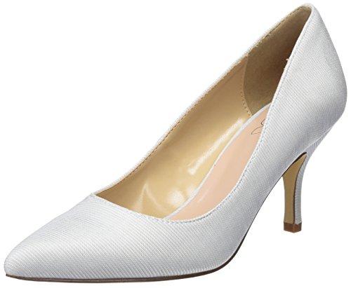 BATA 729199, Zapatos tacón Punta Cerrada Mujer, Blanco