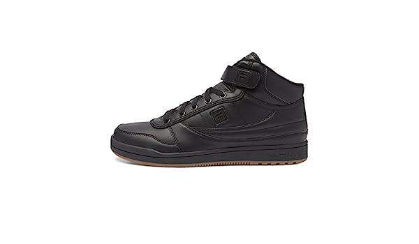 Fila Men's BBN 84 Lace Up Fashion Sneakers, Black, 11.5 M