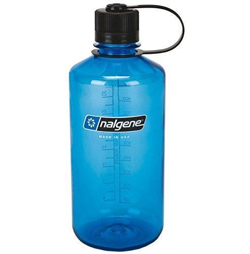 Nalgene 1,0 l Outdoor Classic Narrow Mouth Bottle Blue Trinkflasche -