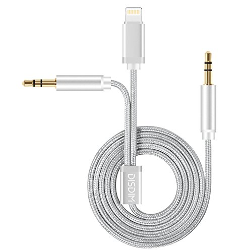 disdim-iphone-7-auxiliary-aux-cord-cable-8pin-lightning-to-35mm-audio-adapter-with-extra-35mm-headph