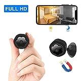 Mini caméra de Surveillance WiFi cachée sans Fil HD 1080p avec détecteur de...