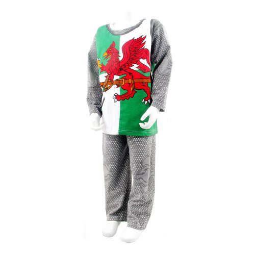 Spielanzug/Schlafanzug Knight Of Wales, für Kinder im Alter von 7-8 Jahren