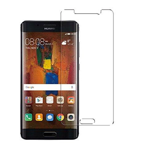 Minto Schutzhülle und Panzerglasfolie für iPhone 7 / iPhone 8 Hülle TPU Case Silikon Crystal Cover Durchsichtig Ultradünn 0.6mm (verkleinerte Folien, aufgrund der Wölbung des Displays) Mate 9 Pro