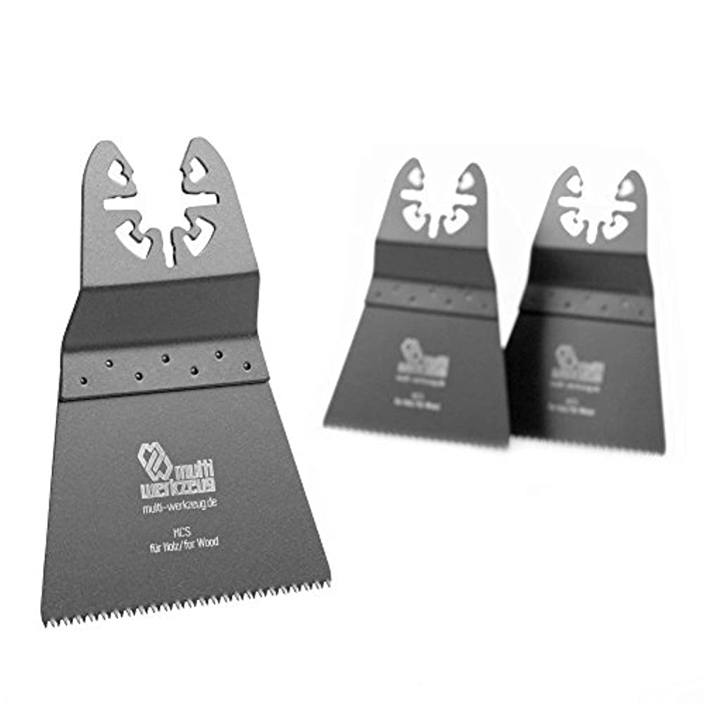 10x Oscillating Multi Tool Saw Blade Zubehör Für Fein Makita Bosch Teile 34mm H