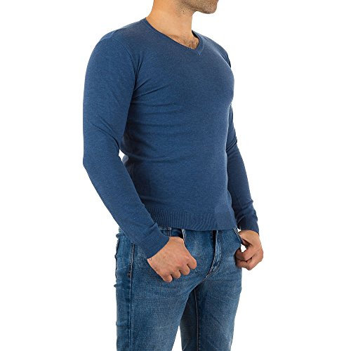 iTaL-dESiGn - Maglia sportiva -  uomo Blau