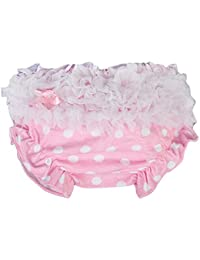 Culotte Bloomer Couvre-couche Prop Photographie pour Bébé Fille Taille S - Rose à Pois