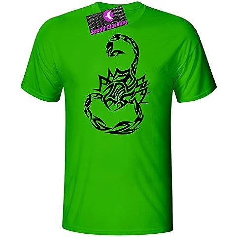 Spedd Clothing Tribal Scorpion Unisex–Maglietta da bambino