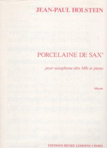 Partition : Porcelaine de Sax' - Sax...