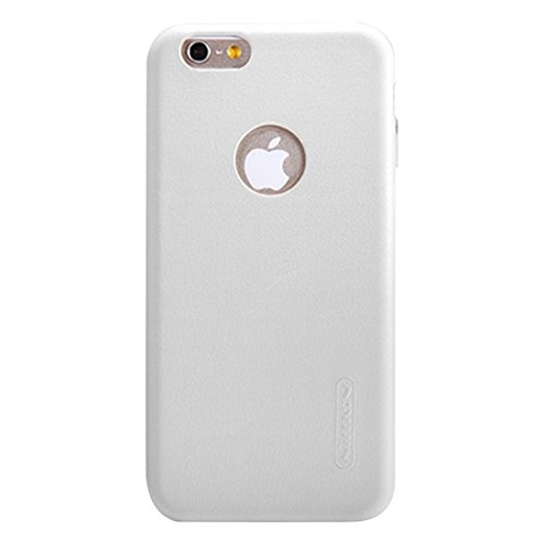 Phone case & Hülle Für IPhone 6 / 6s, Leder Oberfläche Microfaser Futter Schutzhülle Rückseite Abdeckung ( Color : Red ) White