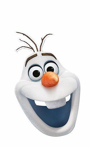Máscara de Olaf Frozen
