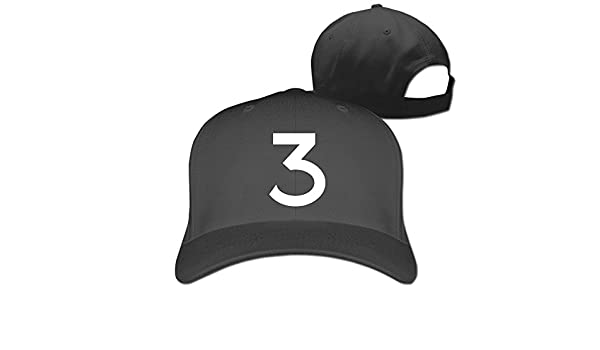 b517c0402 Huseki Chance 3 Chance The Rapper Snapback Cap Hat Black: Amazon.co ...