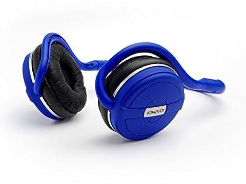 Casque stéréo Bluetooth Kinivo BTH240 – supporte la musique en