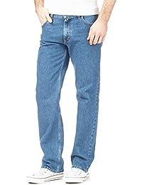 541f09b8892d Mens Original 100% Cotton Jeans Plain Straight Leg Heavy Duty Denim Wash  Boys Jean Classic
