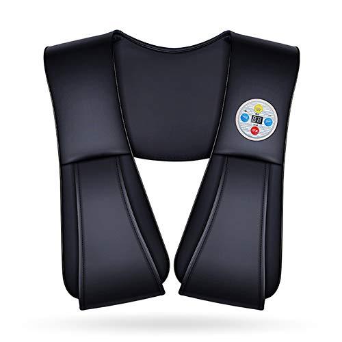 Nackenmassagegerät Hals-Massagegerät-Hals-Schulter-Taillen-Hals-schlagende Massage-Schal-Timing-HauptMultifunktions-zervikales Massager, Black
