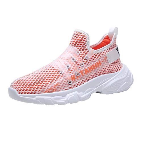 Baskets Homme Femme Chaussures de Sport Course Air Sneakers Casual Mode Multisports Outdoor Fitness Gym Décontracté Maille Légère pour Hommes Chaussure D'été Respirante
